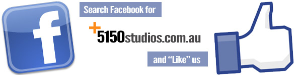 Facebook Like Us 5150 Studios