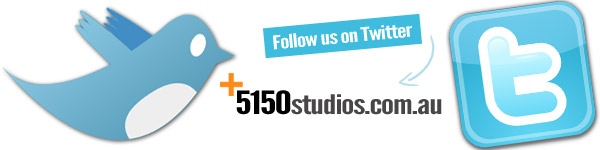 Follow 5150 Studios On Twitter