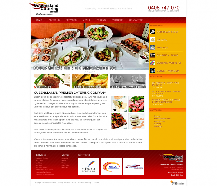 Queensland Catering Service