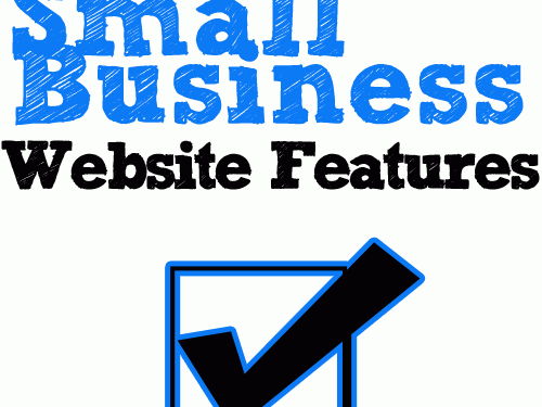Small Business Website Features